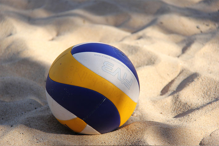 outdoor volleyball, volleyball courts